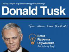Donald Tusk - same konkrety